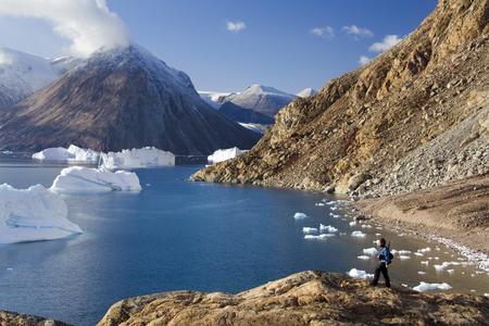 북동부 피요르드는 동부 그린란드의 스코 비 즐 랜드 (Scoresbysund)까지 도달 에디토리얼