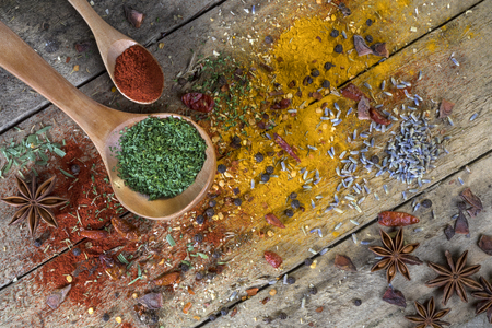 Herbs and Spices - used to add flavor and seasoning to cooking.