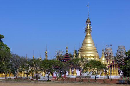 Hum Si Paya Buddhist temple near Taunggyi in Shan State, central Myanmar (Burma).