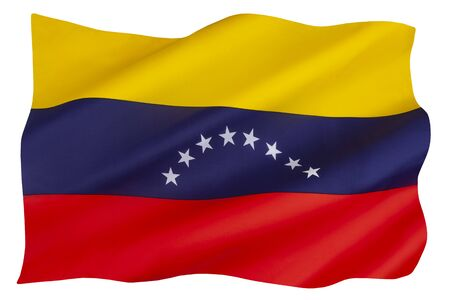The current 8 stars on the flag of Venezuela were added in 2006. The basic tricolor of yellow, blue, and red, dates to the original flag introduced in 1811, during the Venezuelan War of Independence.