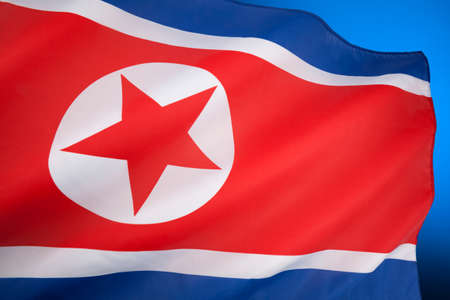 The flag of North Korea was adopted on 8 September 1948, as the national flag and ensign of this isolationist Stalinist state.