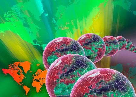 Worldwide international trade