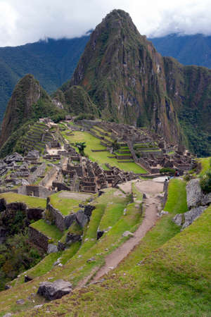 The Inca city of Machu Picchu in Peru. Although known locally, it was not known to the Spanish during the colonial period and was unknown to the outside world until American historian Hiram Bingham brought it to international attention in 1911.