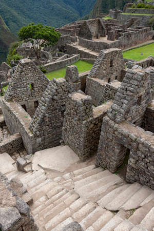 The Inca city of Machu Picchu in Peru, South America. Although known locally, it was not known to the Spanish during the colonial period and was unknown to the outside world until American historian Hiram Bingham brought it to international attention in 1911.