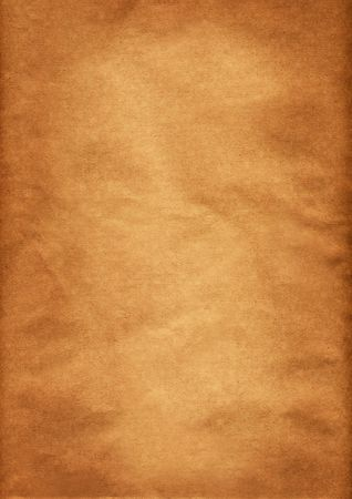 Textured brown and orange paper background, grunge photo