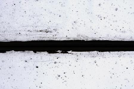 marco blanco y negro: Marco de la ventana de grunge sucio, Fondo de textura abstracta