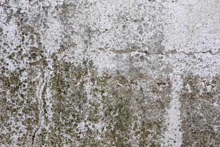plaster mould: Old wall background, dirty and cracked grunge texture