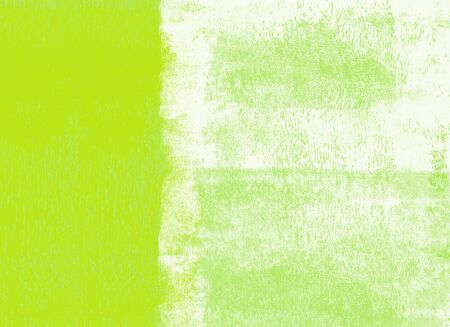 Green rolled paint background
