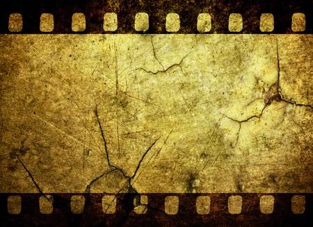 Vintage grunge film strip background Stock Photo