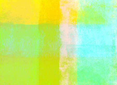 Green and yellow rolled paint background photo