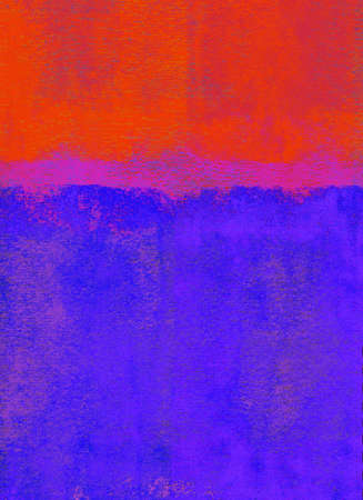 Red and blue rolled paint background Stock Photo - 12803037