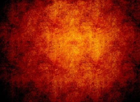 Fond orange brillant roche chaude