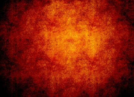 Pomarańczowy świecące gorąco tle skały