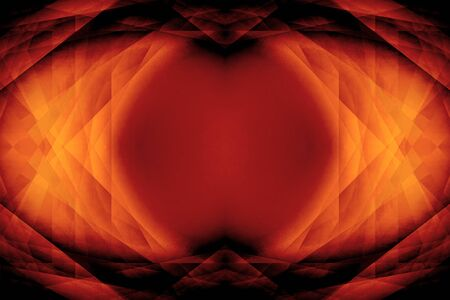 Dark orange gothic science fiction eye background photo
