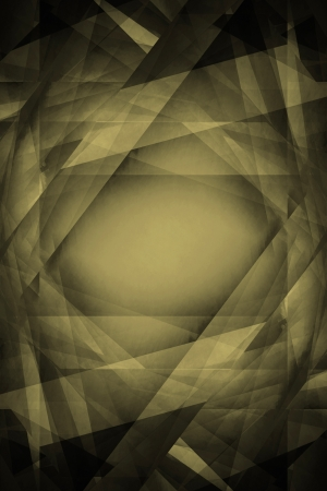 desaturated: Dark green retro overlapping shapes background