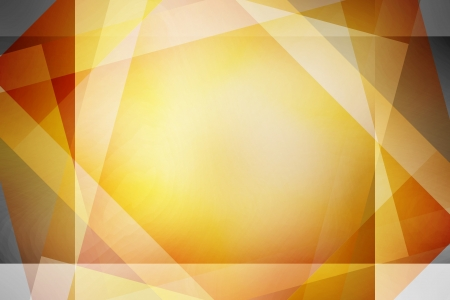 Brown and yellow retro overlapping squares background