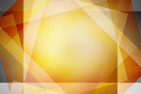 Brown e giallo retr� sfondo quadrati sovrapposti