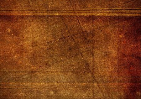 creases: Brown grunge fabric background with creases Stock Photo