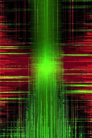Distorted grunge audio recording equalizer Stock Photo - 17802466
