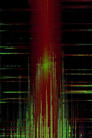 lazer: Distorted grunge audio levels equalizer Stock Photo