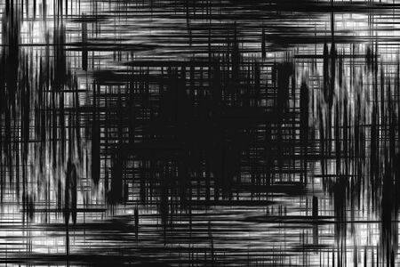 intersect: Abstract smudged black and white lines background
