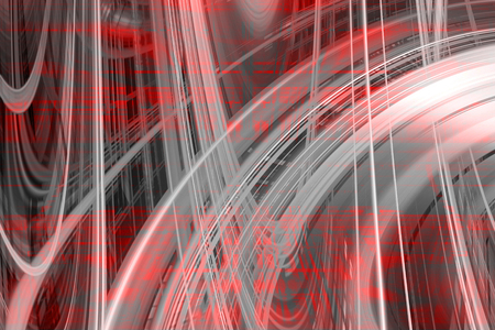 swish: Abstract red and grey swirls background
