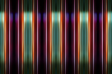 highlights: Purple and green striped with highlights Stock Photo