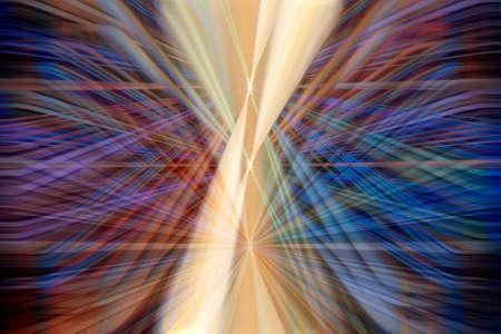 light trail: Colorful rastro de luz din�mica Foto de archivo