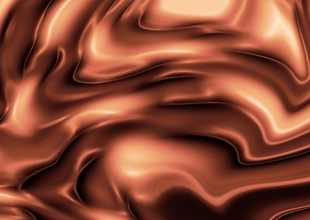 silky: Abstract silky brown rippled background