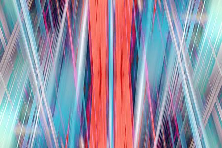 lazer: Orange and blue dynamic urban light trails background