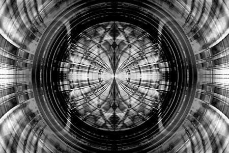 Black and white abstract structure background photo