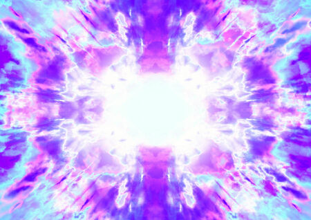 exciting: A blue and purple abstract plasma explosion