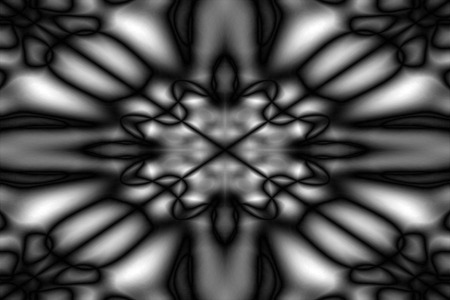 Abstract black and white blurred pattern