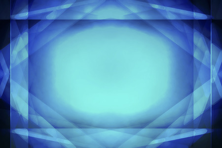 highlight: Abstract blue border background with centre highlight Stock Photo