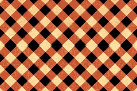 crisscross: Black, red and yellow vintage crisscross pattern Stock Photo