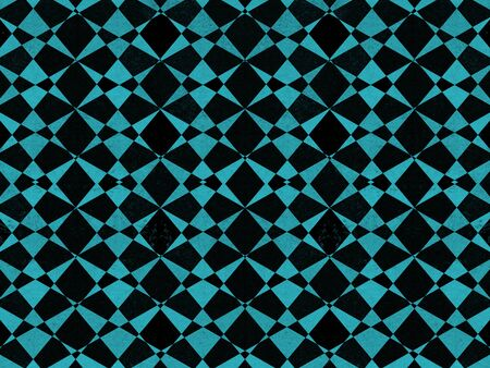 repetition row: Abstract black and blue textured geometric pattern background