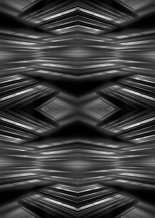 Monochrome futuristic blur lines background Banco de Imagens