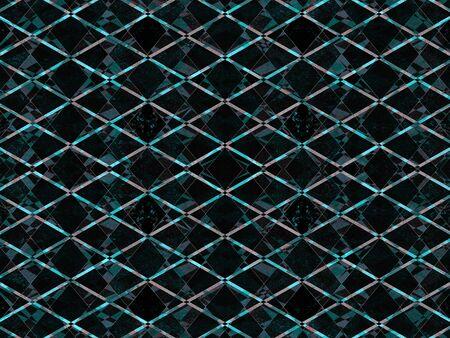 jagged: Light blue textured diamond pattern on a dark background