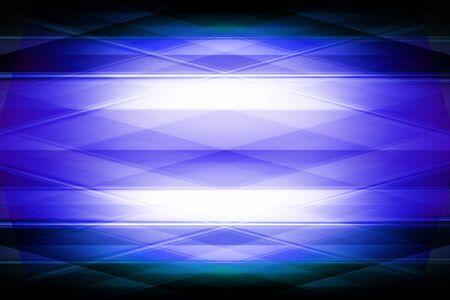 Blue geometric diamond pattern with spotlight Фото со стока