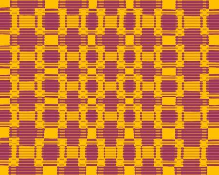 chequered: Yellow and purple blurred chequered pattern