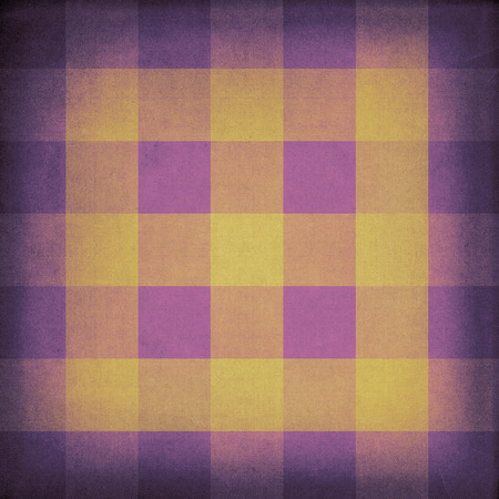 grubby: Purple and yellow vintage retro canvas background Stock Photo