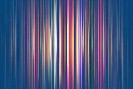 Colourful light streaks on a blue background Standard-Bild