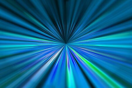 converging: Dynamic blue and green converging lines background with selective focus