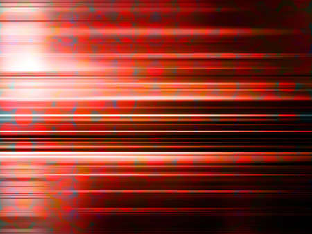 light streaks: Light streaks over a red blurred pattern background