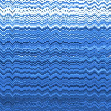 distort: Blue distorted wavy lines background pattern
