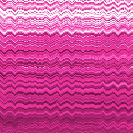 Pink distorted wavy lines pattern