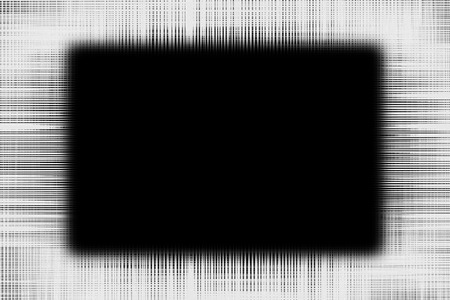 黒の背景に黒のラインの境界線フェージングをラフします。