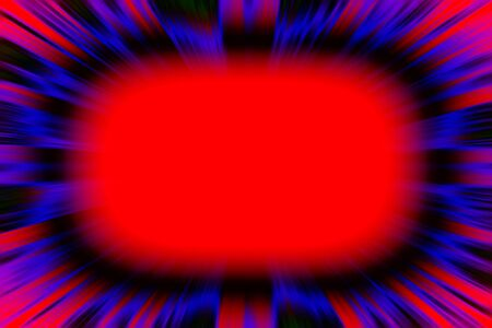 Colourful starburst explosion frame with a red copy space centre