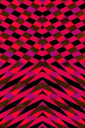 Textured black, orange and purple arrows background