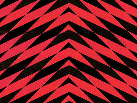 Red and black abstract arrows background